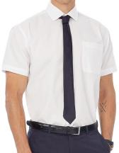 Men´s Poplin Shirt Smart Short Sleeve